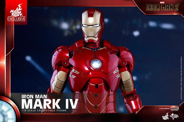經典裝甲再度登場!Hot Toys – MMS338 – 《鋼鐵人2》1/6比例 鋼鐵人馬克4 Mark IV