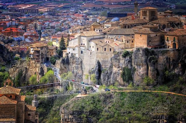 (152/16) Cuenca maravillosa a vista de pájaro