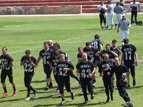 Murcia Cobras - Cehegín Wolves.24-5-2010