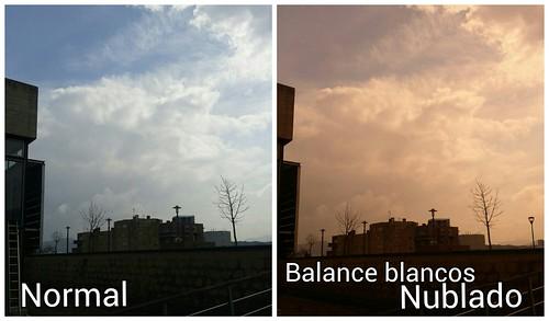 El uso de HDR y Balance de Blancos Nublado