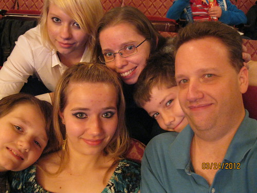 3/24/12: Behind the Myths Tour - The Fam in the Theater