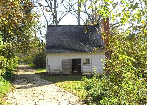 Preserved 1830s Slave Cabin, Sotterley Plantation, Hollywood