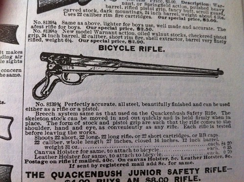 Bicycle rifle