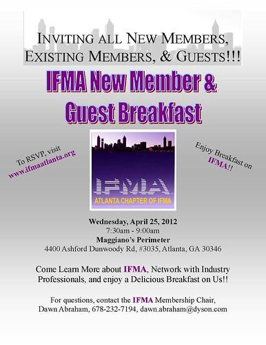 New Member Guest Breakfast 4 25 12