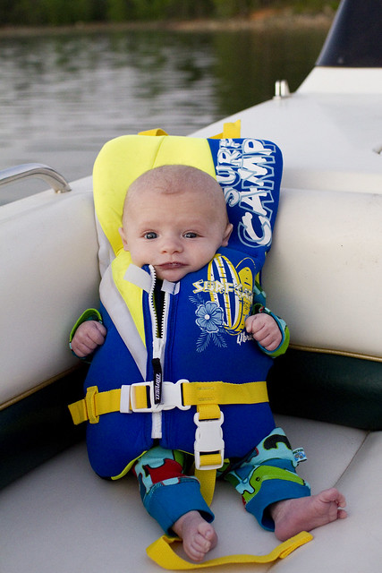 Ty's first boat ride_1