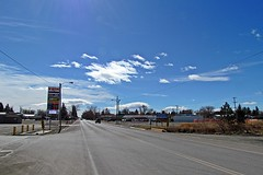 Conrad, Montana looking South