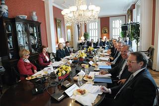 Clinton külügyminiszter és a Kvartett képviselői