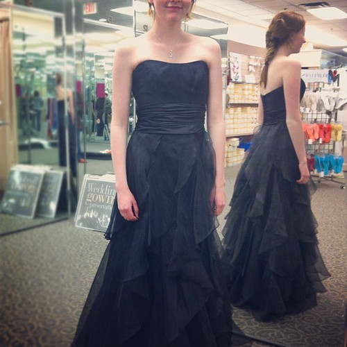 approximately four hundred dresses later... #unschool  #prom #unschooling #parentingteens