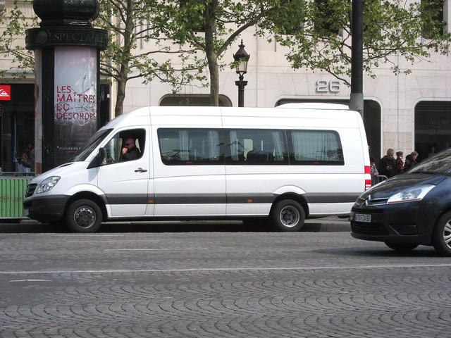 A nice bus
