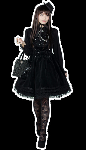 lovely gothic lolita dress