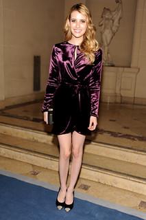 Emma Roberts Cap Toe Heels Celebrity Styling Fashion