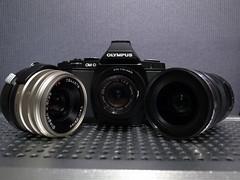 Olympus OM-D + Pentax auto110 18mm f2.8