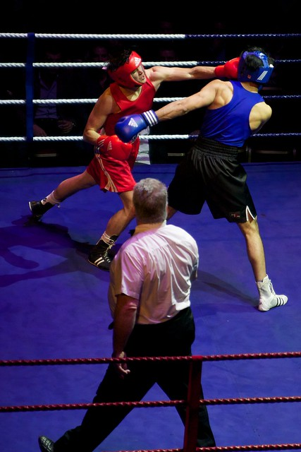 Edinburgh Universities' amateur boxing squad triumph over an Edinburgh club ...
