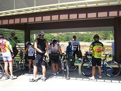 Next Step Tri Camp: hot bike ride