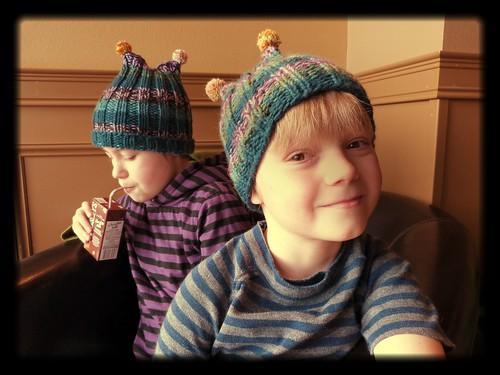 2 Hats!