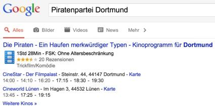 Piratenpartei Dortmund - Ein Haufen merkwürdiger Typen