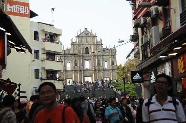 聖ポール天主堂跡 Ruins of St. Paul's