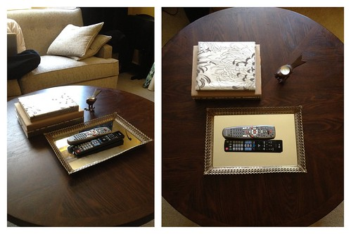 Coffee Table Styling Attempt 4