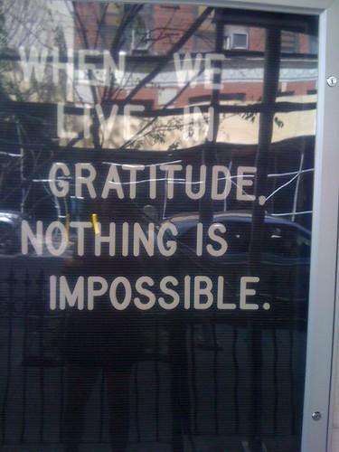 A nice sentiment