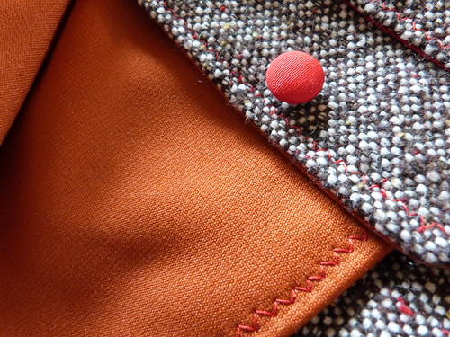 Tweed Suit, Front & Lining