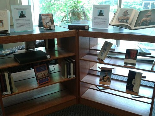 Books about Buddhism are available at the UGL.