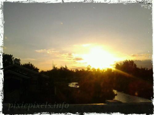 april1 Sunset River