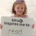 KLRU inspires me to... read,