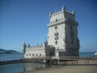 Attēls no Belém Tower pie Algés. portugal lisboa belem