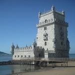 Изображение Башня Белем вблизи Algés. portugal lisboa belem