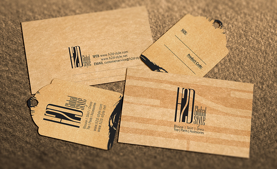 Mini Brand - Price Tag - Name Card - H2D Global Style