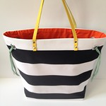 Stripes + Color Tote Bag