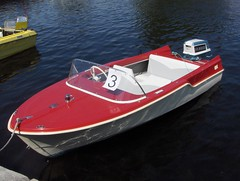 dinghy(0.0), watercraft rowing(0.0), bass boat(0.0), inflatable boat(0.0), rigid-hulled inflatable boat(0.0), vehicle(1.0), skiff(1.0), boating(1.0), motorboat(1.0), watercraft(1.0), boat(1.0),