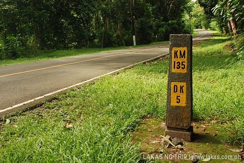 5 kilometer marker to Dambana ng Kagitingam