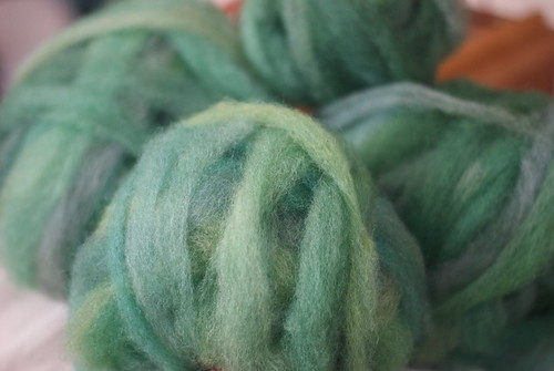 Tour de Fleece Day 1: 4oz Laura's Pygoras Shetland Roving