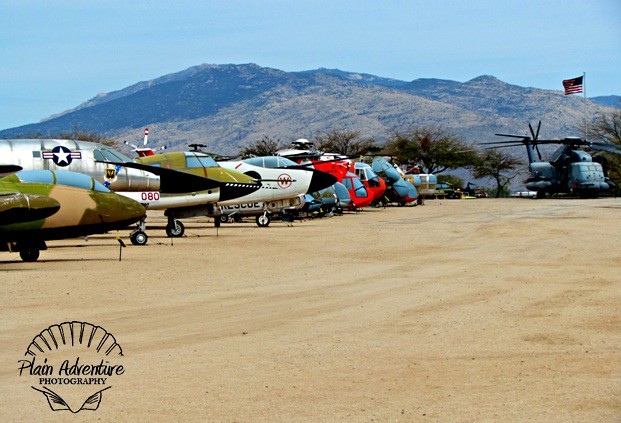 Planes at Pima Air and Space Museum