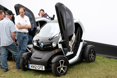 Goodwood Festival of Speed 2012 - Renault Z.E. Electric Car