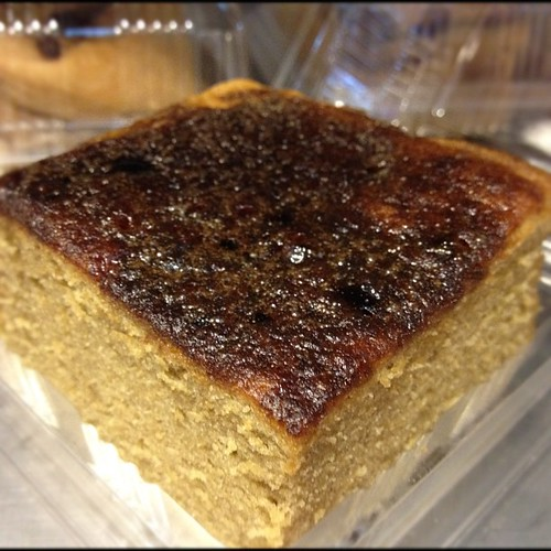 """Fresh from the oven: crackly crunchy Coffee Cake, or """"Kek Kopi"""""""