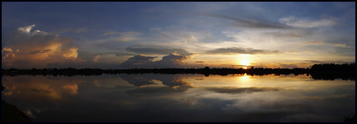 'Kalasin Sunset..'  Kalasin, Thailand