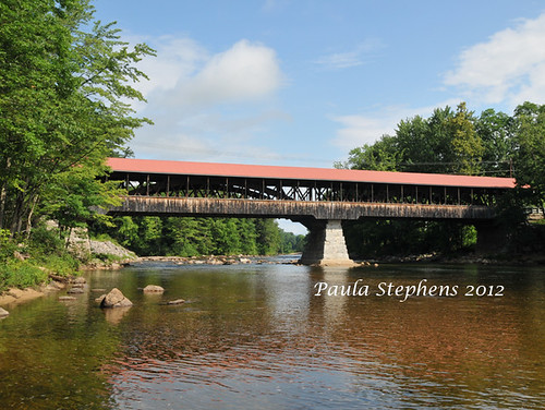 Saco River Bridge by Paula Stephens