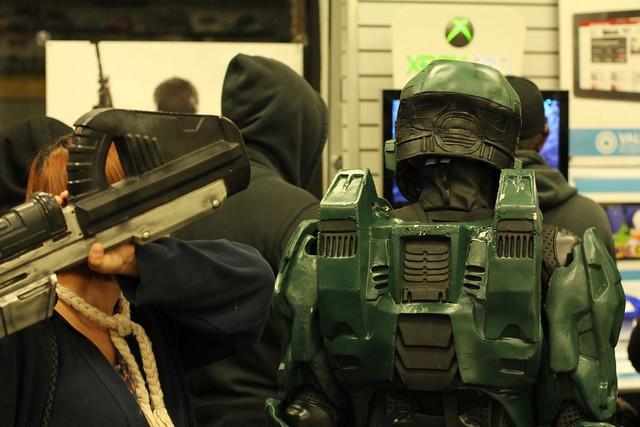 Halo Master Chief Costume Back   Flickr - Photo Sharing!