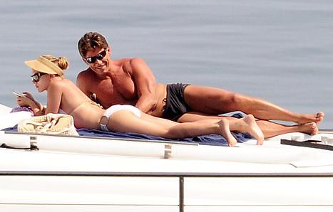 Scarlett Johansson White Bikini