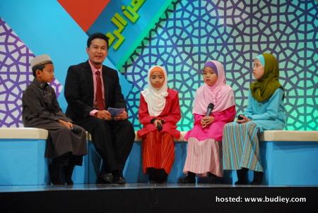 Hos bersama finalis Qari Junior