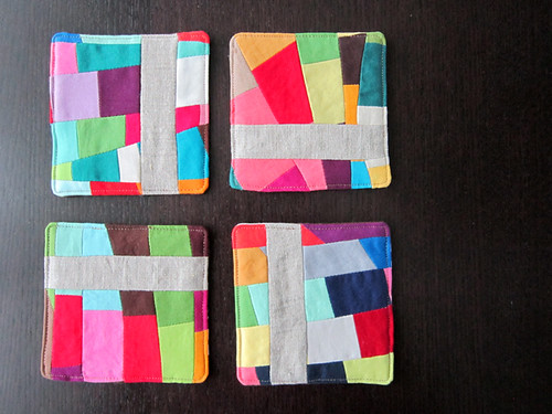 Oodalolly scrap coasters