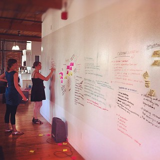 Check a look at @Commons11 brainstorming at @BentoMiso!