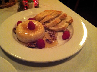 Honey Baked Brie at Michael John's Restaurant, Bradenton FL