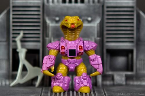 Battle Beasts: #59 King Cobra (Series 3)