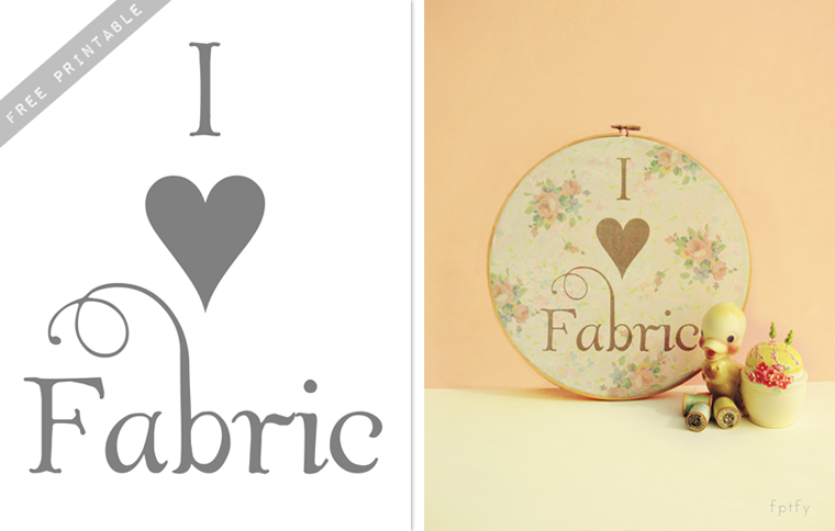 I love Fabric Pretty  Embroidery Hoop Printable  DIY by FPTFY web ex