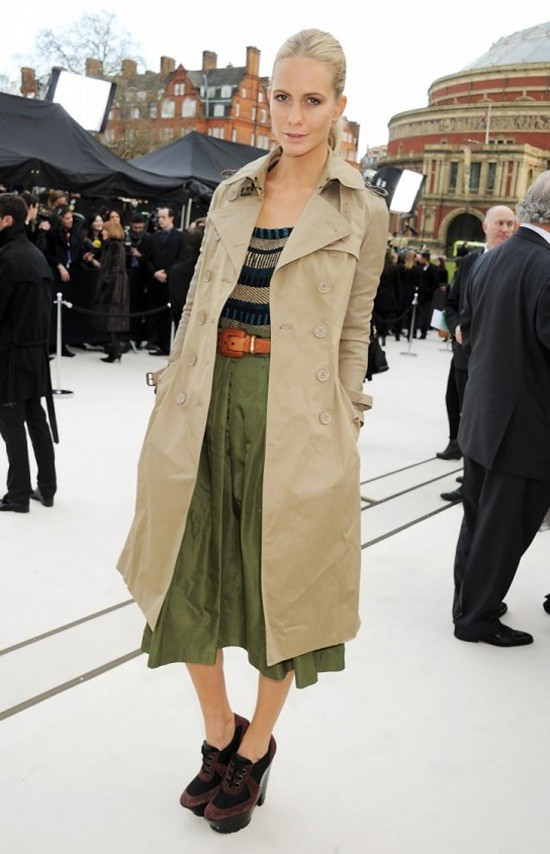 3 - Poppy Delevingne wearing Burberry