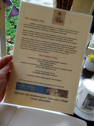 The Tailor's Tea at Lily's Restaurant and Tearoom