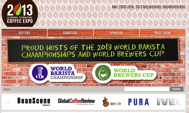 Melbourne International Coffee Expo 2013